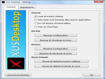 XUS Desktop Screenshot 4